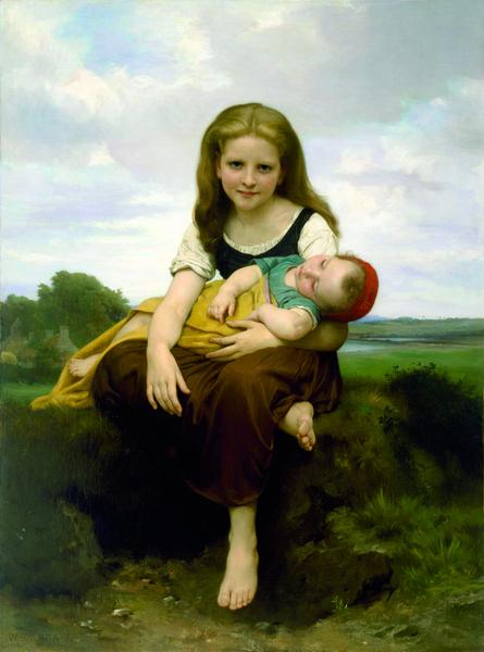 mfahouston-painting-woman-child