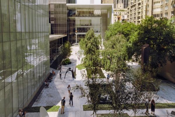Sculpture Garden aerial
