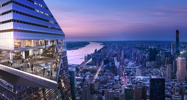 Edge, Hudson Yards' Dazzling New Observation Deck, Joins the New York CityPASS C3 Attractions Ticket