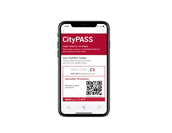 New York C3 by CityPASS Ticket