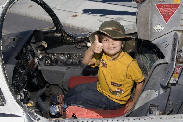 Buckeye Youngster Thumbs Up
