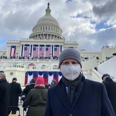 Congressman Coelho at Biden Inauguration 2021
