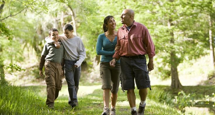 Hispanic paradox family picture