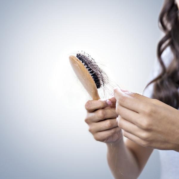 Getty Hair loss covid