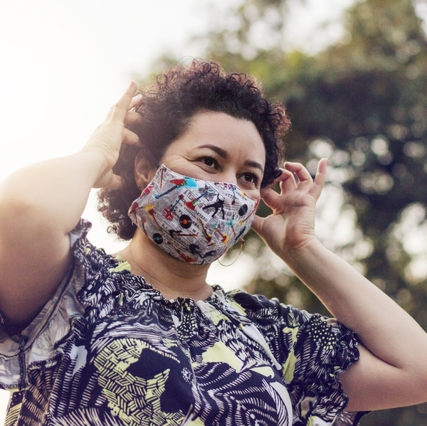 latin woman mask