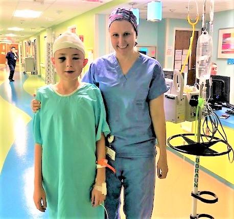 Keenan and Dr. Kiehna