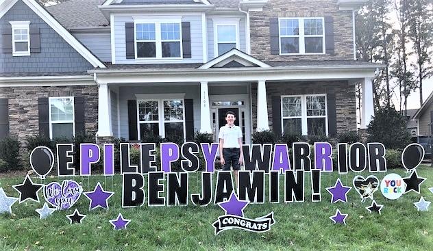 Keenan front yard sign