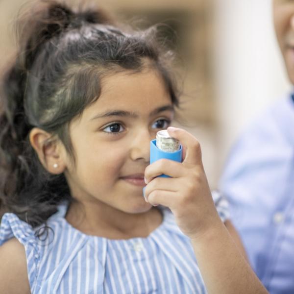 asthma breathing inhaler allergies children's health