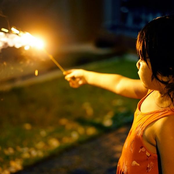 Sparklers fourth of july celebration holidays