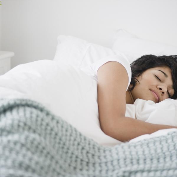 latino woman sleeping 1