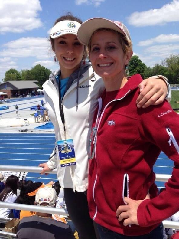 Megan with her mom Karen Zimlich