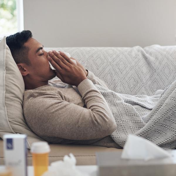 sick cold flu COVID allergies