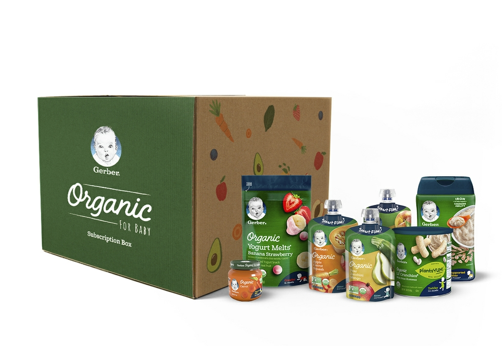 Gerber Introduces Subscription Boxes Curated for the Age and Stage of Your Baby
