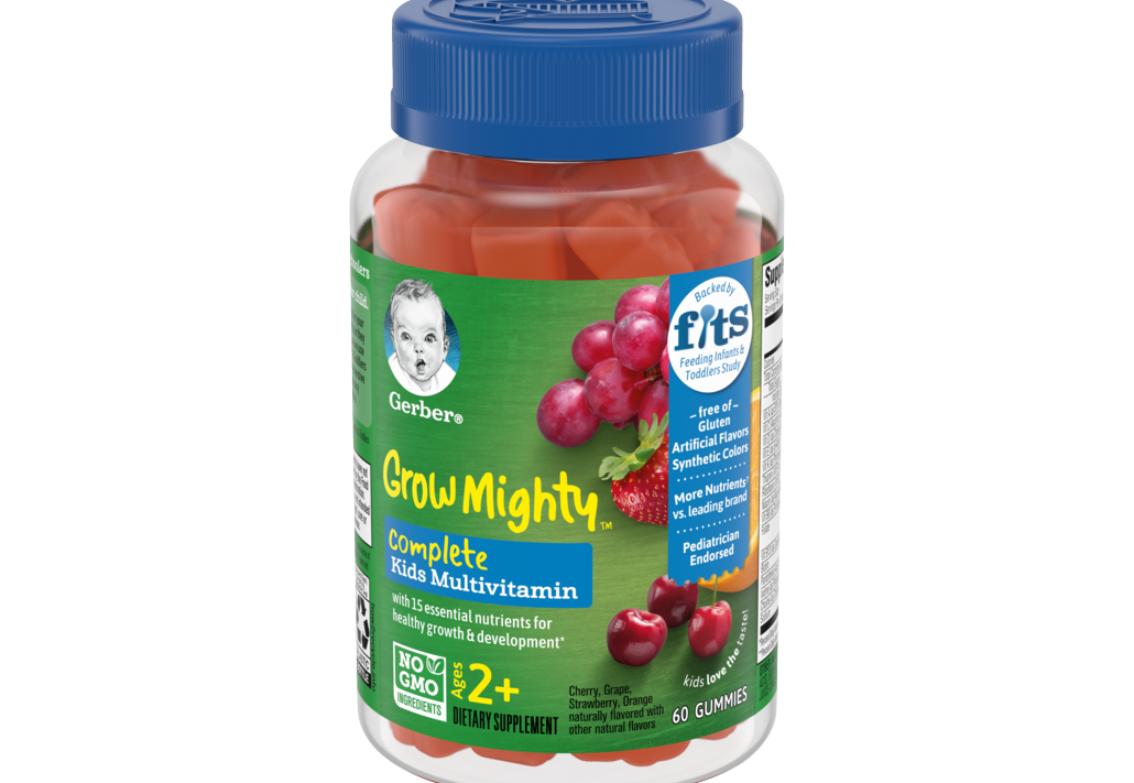 Gerber® Introduces Multivitamin Gummies Specially Designed to Help Kids Thrive