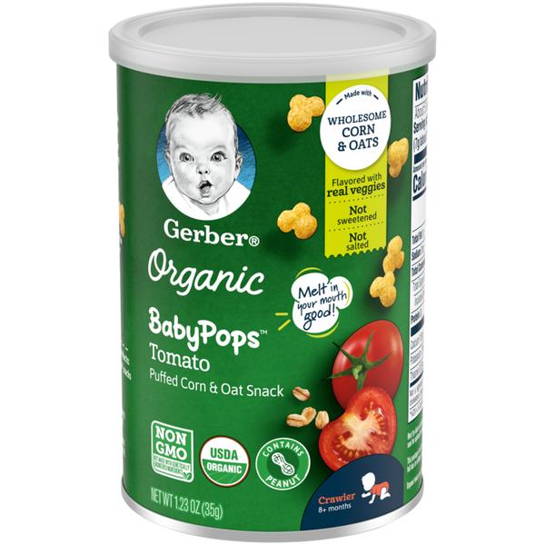 Gerber Organic BabyPops Tomato