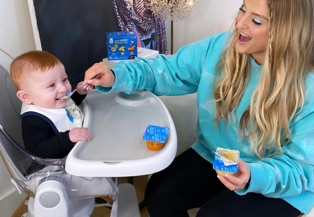 Gerber® and New Mom Meghan Trainor Invite Parents to Share Babies First Tastes for Chance to Win Baby Food for a Year