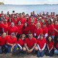 Pepperidge Farm Employees Get Norwalk Beaches Ready for Busy Summer Season