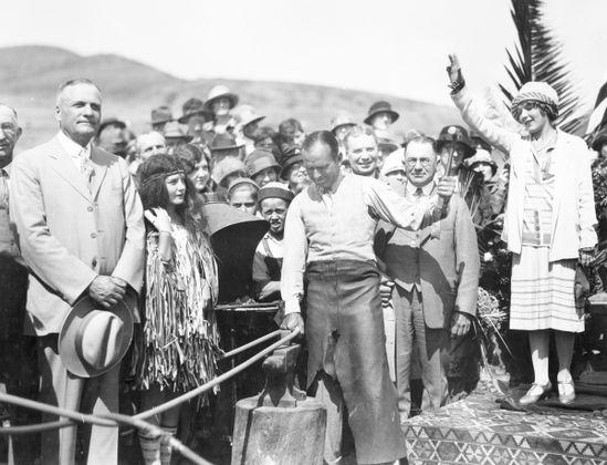 Coast Highway Dedication, Laguna Beach, 1926