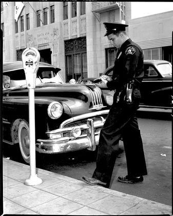 Santa Ana Traffic Enforcement, 1951