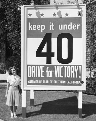 Drive For Victory, World War II