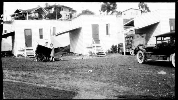 Auto Camp, San Diego, 1925