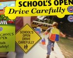 School's Open: Avoid Distracted Walking