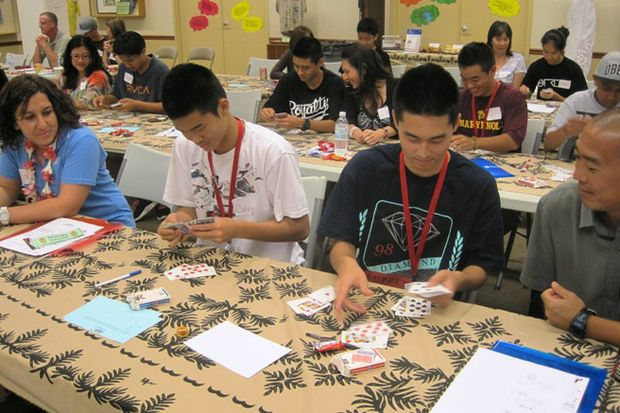 Dare to Prepare Parents and Teens Card Test