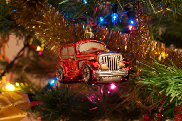 christmas tree car ornament