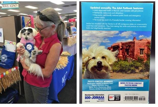 Jackie Wins Pet Photo Contest