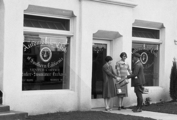 Ventura branch 1925