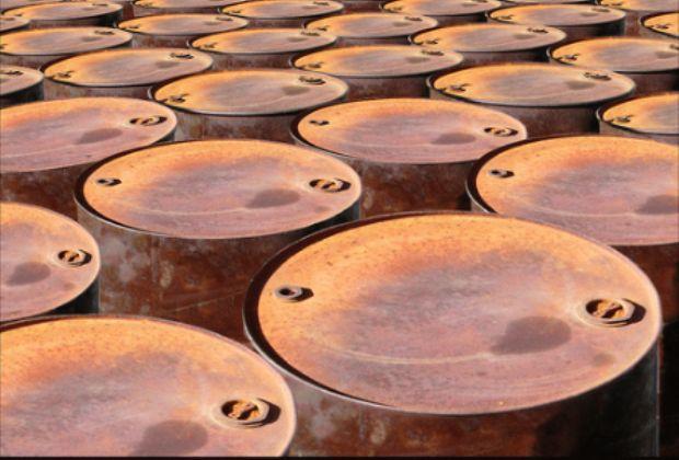 Oil barrels by Ian Burt