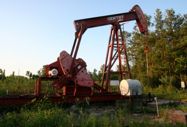 Oil Pump by Roy Luck