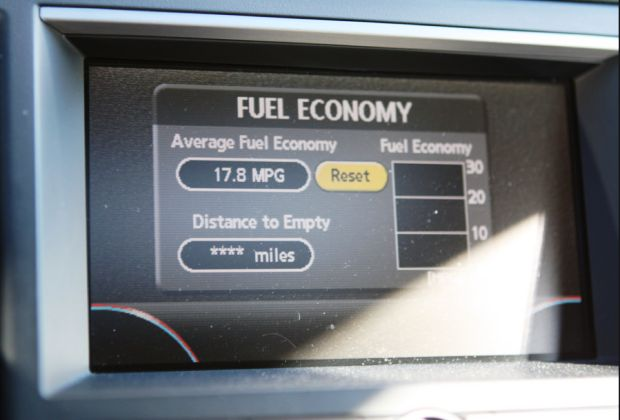 Fuel Economy Gauge by Raniel Diaz