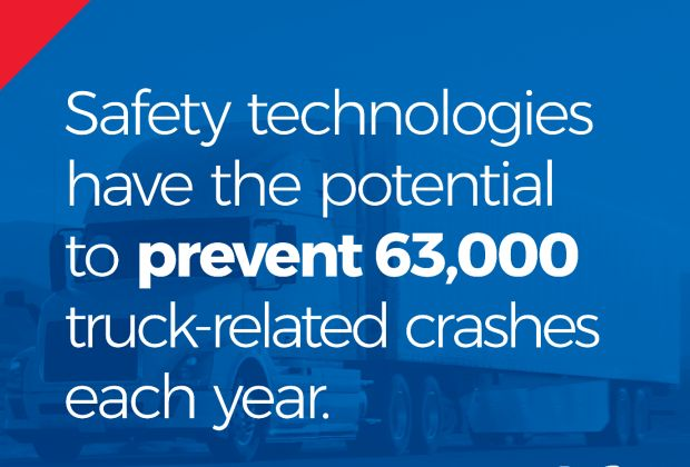 Truck technology infographic