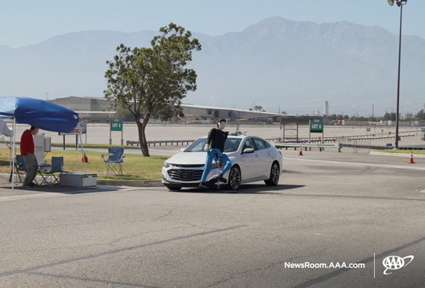 Testing Photo - Collision with Adult After Right hand turn 1