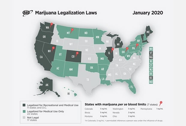 Marijuana laws by state