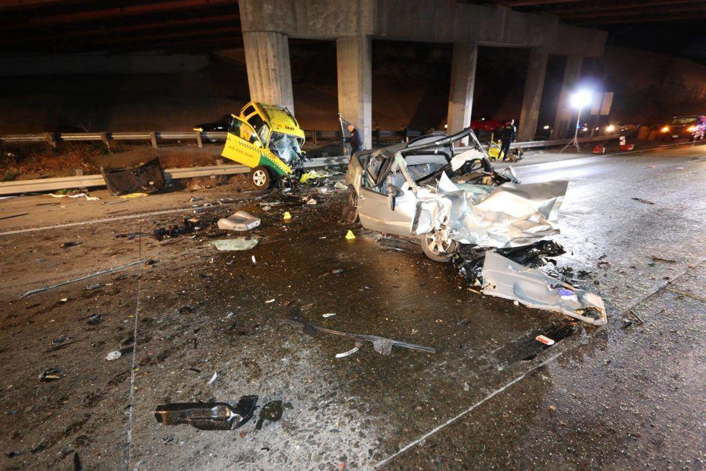 CHP San Francisco Hwy 101 wrong way crash