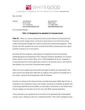 Ken Rohl ACG Founders Award Release