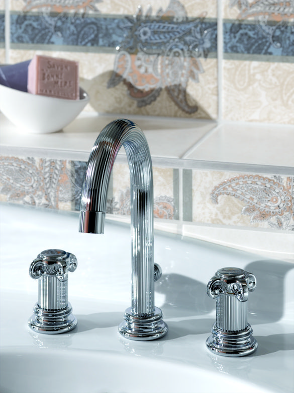 ROHL Jorger Aphrodite 3-Hole Widespread Lavatory Faucet
