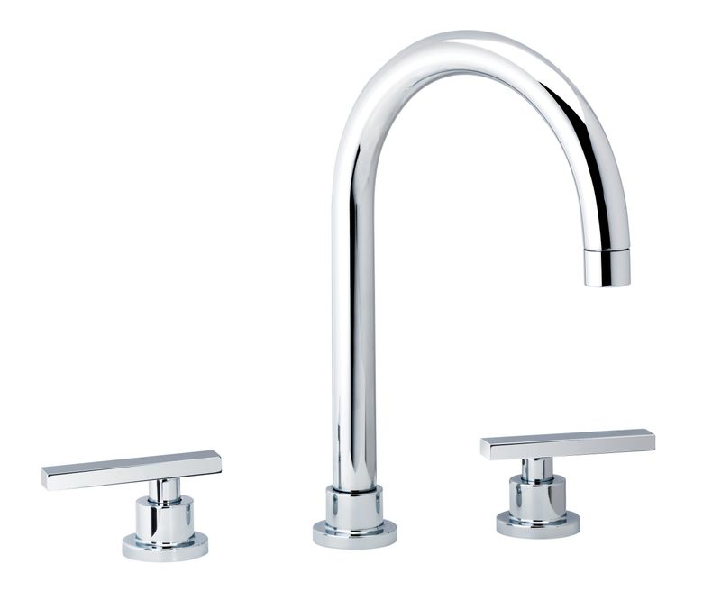ROHL Widespread Lav Faucet with Pop-Up