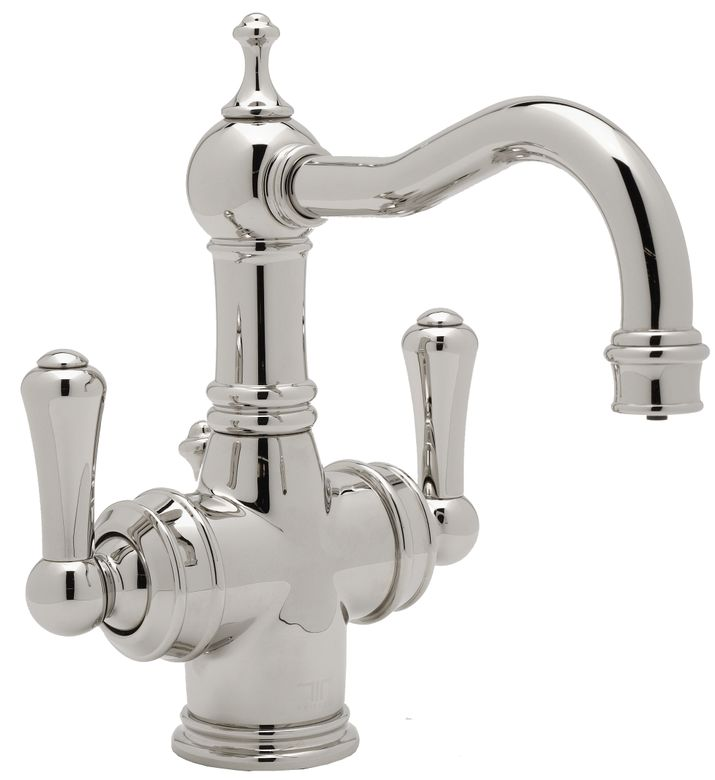 ROHL Perrin & Rowe Georgian Era 2-Lever Lavatory Faucet