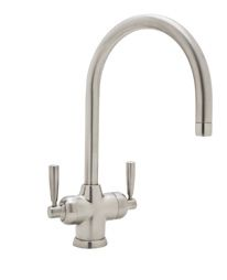 Perrin & Rowe® Contemporary Mimas 2-Lever Faucet