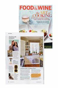 ROHL Featured In Food & Wine Magazine