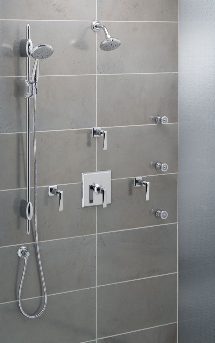 Merveilleux ROHL Vincent Shower Package
