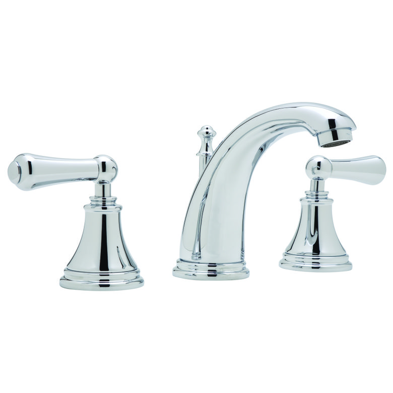 ROHL Perrin & Rowe® Georgian Era 3-Hole C-Spout Widespread Lavatory Faucet (U.3712LS)