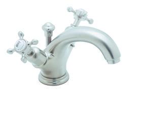Perrin & Rowe® Edwardian Single Hole High Neck C-Spout Lavatory Faucet