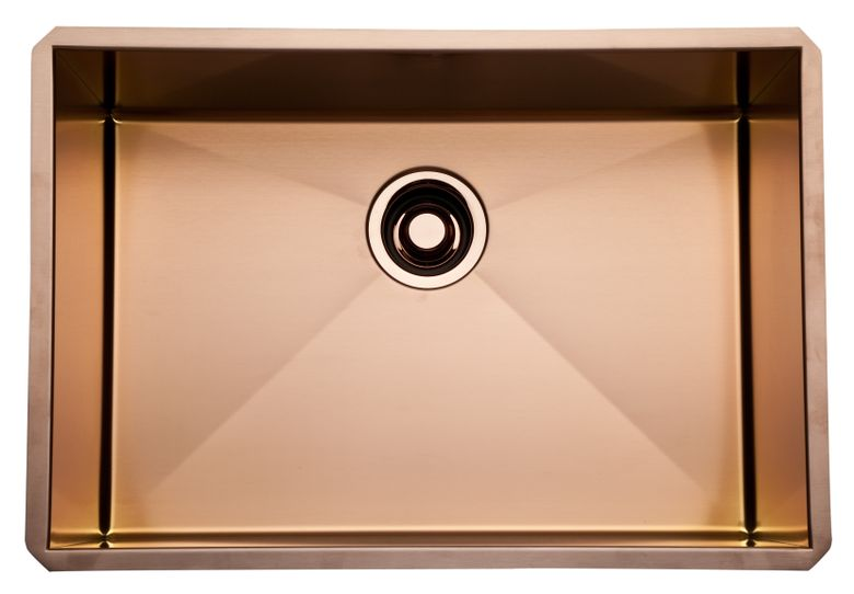 "24"" Luxury Copper Stainless Sink"