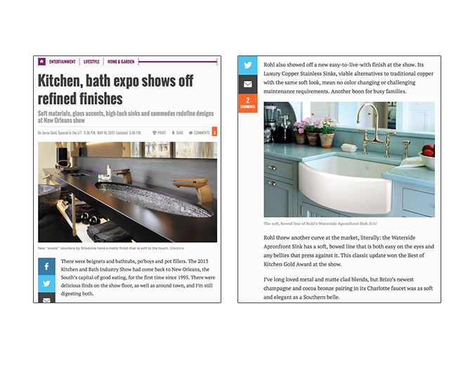 U-T San Diego Top Trends at KBIS 2013