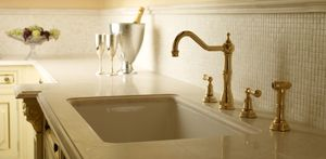 ROHL Perrin & Rowe® Four-Hole Kitchen Faucet with Sidespray