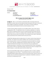 ROHL_PerrinRowe Announcement_Press Release_FINAL